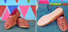 lovely painted TOMS shoes!