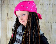 Handmade Hats and Wigs For All Ages by YumbabY on Etsy Costume Halloween, Bonnet Rasta, Wig Hat, Pirate Hats, Beanie, Photo Props, Snug, Pirates, My Design