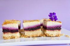 Bouchées Cheesecake à la myrtille