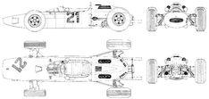 Ferrari 158 blueprint