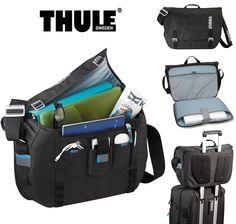 "New TSA Friendly Thule Crossover 15"" Laptop / MacBook Pro Messenger Bag -TCMB115 #Thule"