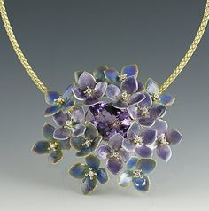 Russell Trusso Fine Jewelry - Hydrangea Necklace  www.russelltrusso.com