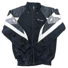 Veste streetwear Disponibilité : ❌ Marque : CHAMPION Couleur: Noir, blanc  Taille : M