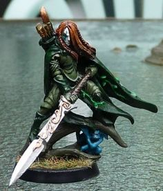Elf Highborn Lord (Warhammer Wood or High Elves)