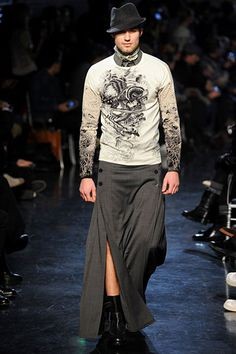 Jean Paul Gaultier Menswear: Fall 2012