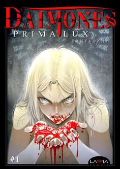 """Cover of the chapter 1 of """"Dàimones - Prima Lux"""". (©Dany&Dany)"""