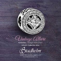 Pandora Vintage Allure Charm - Autumn Collection 2016