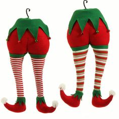 "The Jolly Christmas Shop - Raz 20"" Elf Butt Christmas Tree Decoration 3516121, $34.99 (http://www.thejollychristmasshop.com/raz-20-elf-butt-christmas-tree-decoration-3516121/?page_context=category"
