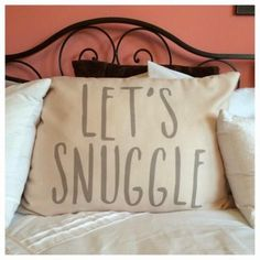 Style your bedroom with adorable throw pillows from Tiny Prints that bring a little bit of your personality.