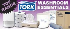 Top Range: Tork Washroom Essentials, Now including a NEW range of Tork products from www.directa.co.uk