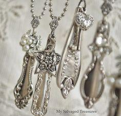 Repurposed Jewelry Creations / MySalvagedTreasures.com
