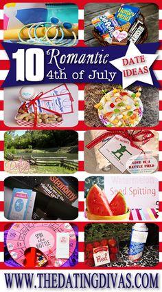 4th of july romantic getaways
