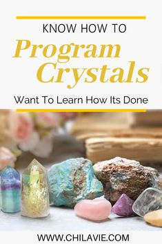 Learn how to program crystals easily and why you would do this. They are similar to how silicon (which is what crystals like Quartz are made. I don't see it as telling the crystal what to do or that it will limit its effect in some way. Healing Gemstones, Crystal Healing Stones, Crystal Magic, Crystals And Gemstones, Stones And Crystals, Chakra Meanings, Charge Crystals, Meditation Crystals, Crystal Shapes