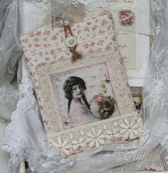 Shabby Chic Inspired: kindle case