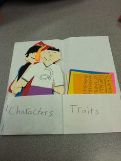 The Language Artist: Character Traits Activity with any Novel.