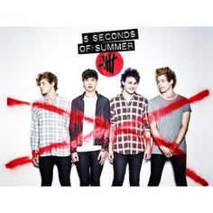 5SOS Fans Get Too 'Hungry' For Album News, Crash Bands Website ❤ liked on Polyvore featuring 5sos and photos