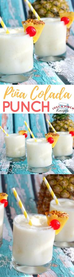 It makes you feel like you're sitting on a beach on a deserted island. This would be great served at any party or just on a hot day. A great summertime drink!
