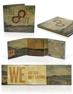 great CD packaging design (and great CD!)