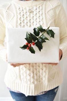DIY Holiday Gift Wrap Ideas on Kara's Party Ideas   KarasPartyIdeas.com (2)
