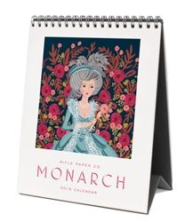 2015 Rifle Paper Co. Monarch Flip Desk Calendars available at Northlight Homestore