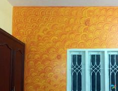 YellowSprings -Royale Play – Interior Painting Wall Texture Design, Tv Wall Design, Ceiling Design, Partition Design, Door Design, Asian Paints Wall Designs, Asian Paint Design, Paint Designs, Asian Paints Royale