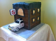 Ghostbusters Cake By Ashleyssweetdesigns on CakeCentral.com