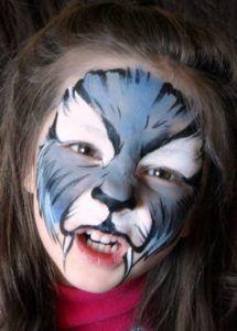Wolf Face Paint Makeup                                                                                                                                                                                 More