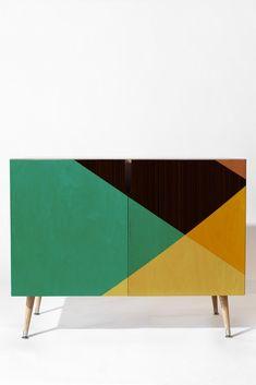 Triangle Footprint Tridiv1 Mega1 Credenza | DENY Designs Home Accessories