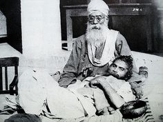 04-Bhagat Puran Singh and Piara Singh - the 'Garland' around his neck (1960s) by Manvir_Singh_, via Flickr