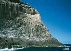 Los Órganos en La Gomera. Islas Canarias