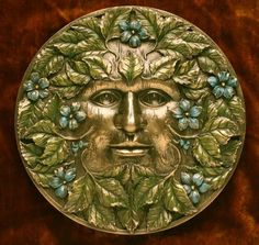 themagicfarawayttree: green man at beltane Nature Spirits, Religion, Celtic Art, Spring Green, Gods And Goddesses, Mythology, Old Things, Creations, Fantasy