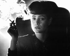 Sean Young as Rachael in #BladeRunner (1982).