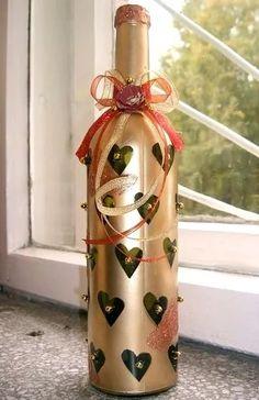 бутылка дама декорирование к новому году: 12 тыс изображений найдено в Яндекс.Картинках