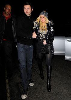 Christina Aguilera steps out with Matt Rutler