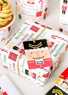 Foto y Diseño: POSTREADICCIÓN. Impresión y recorte aquí:  http://articulo.mercadolibre.com.ar/MLA-597560691-navidad-kit-deco-impresion-y-recorte-_JM