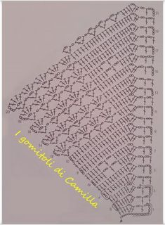 Herringbone Stitch, How to work a Herringbone stitch (Step by Step, Video) Crochet Table Runner Pattern, Crochet Edging Patterns, Crochet Lace Edging, Crochet Motifs, Crochet Borders, Crochet Tablecloth, Crochet Diagram, Doily Patterns, Crochet Designs