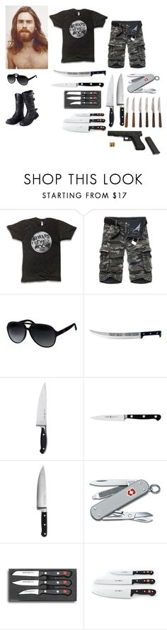 """Fang"" by koolkat1573 on Polyvore featuring Gucci, Coltellerie Berti, Zwilling, J.A. Henckels, KitchenAid, Victorinox Swiss Army and Improvements"