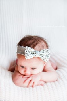 baby bow, for someone who just had a baby.