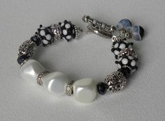 Payton Handmade Beaded Bracelet by bdzzledbeadedjewelry on Etsy, $34.00
