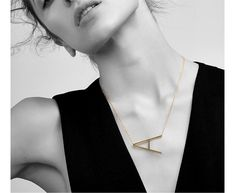 Letter Necklaces Alphabet Initial Pendants Necklace Gold Color Stainless Steel Choker Necklace for Women Jewelry Letter Pendant Necklace, Letter Pendants, Monogram Necklace, Chain Pendants, Arrow Necklace, Gold Necklace, Disc Necklace, Simple Necklace, Necklace Types