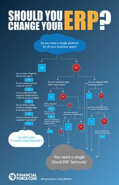 Should you change your ERP? Infographic