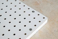 Building Your Own Pegboard