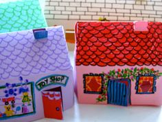 Single Married Mum: Easy Paper Houses