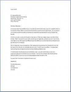 Lettre de motivation emploi lettre type gratuite suisse emploi pinterest job cv - Commis de cuisine suisse ...