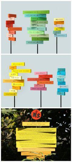 转载:Planting<wbr>Poetry<wbr>指示牌设计