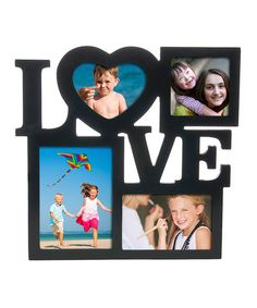 Loving this 'Love' Cut Out Frame on #zulily! #zulilyfinds