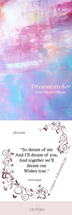 Create A Dream Circle  Whether you have a dream or are in need of a new one, whether your dream is for yourself, your community or the world, this is your chance to act, to get help in making it happen and to support others in doing the same. Identify a dream that you are passionate about. Put it in writing, tell others about it who will support you and are committed to helping you overcome obstacles and achieve results....click image for complete story.