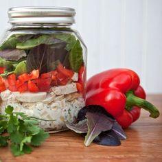 Chicken Salad in a Mason Jar!