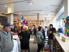 Ribbon cutting ceremony. (Opening Day, May 2011)