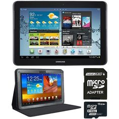 """Samsung 10.1"""" Galaxy Tab 2 Android 4.0 Tablet with Case"""